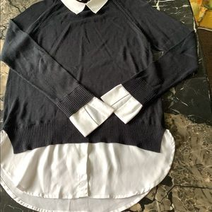 Central Park west sweater shirt combo size large